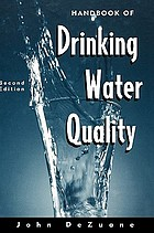 Handbook of drinking water quality