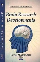 Brain research developments
