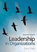 Leadership in organizations.