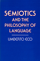 Semiotics and the philosophy of language