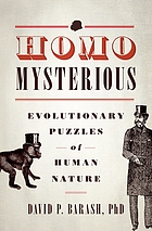 evolutionary puzzles of human nature.