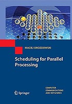 Scheduling for parallel processing
