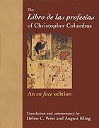 The Libro de las profecías of Christopher Columbus