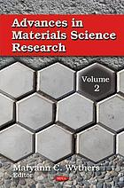 Advances in materials science research. Volume 2
