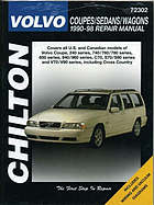 Chilton's Volvo coupes/sedans/wagons : 1990-98 repair manual