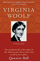 Virginia Woolf; a biography.