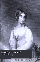 Memoir and letters of Sara Coleridge.