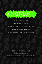 Aeschylus I : The Persians