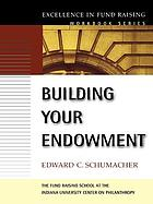 Building your endowment