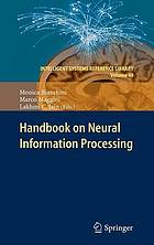 Handbook on neural information processing