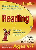 Learning support workbook : practice, revision & tests. English. Reading. Ages 4-7