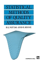 Statistical methods of quality assurance