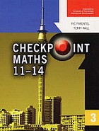 Checkpoint maths 11-14. 3