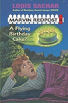 A flying birthday cake