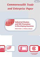 Industrial clusters and SME promotion in developing countries