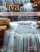 Java how to program. Late objects version