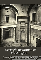 Carnegie Institution of Washington.