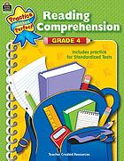 Reading comprehension : grade 4