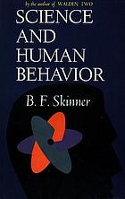 Science and human behavior.