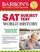 Barron's SAT subject test. World history