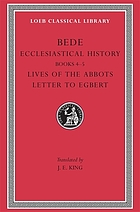 Bede opera historica : with an English translation