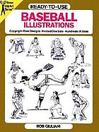 Ready-to-use baseball illustrations : copyright-free designs, printed one side, hundreds of uses