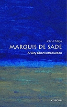 The Marquis de Sade : a very short introduction