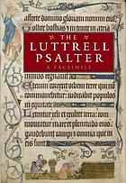 The Luttrell psalter : a facsimile