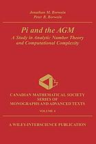 Pi and the AGM : a study in analytic number theory and computational complexity