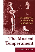 The musical temperament : psychology and personality of musicians
