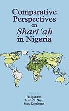 Comparative perspectives on Shariʻah in Nigeria