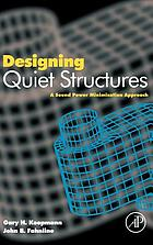 Designing quiet structures : a sound power minimization approach