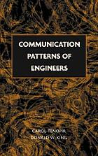 Communication patterns of engineers