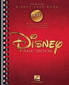 Disney fake book.