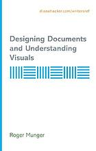 V : designing documents and understanding visuals : supplement to accompany handbooks by Diana Hacker