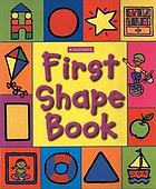 First shape book