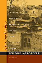 Crossing borders, reinforcing borders : social categories, metaphors, and narrative identities on the U.S.-Mexico frontier
