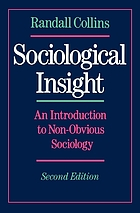 Sociological insight : an introduction to non-obvious sociology