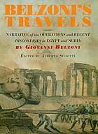 Belzoni's travels : narrative of the operations and recent discoveries in Egypt and Nubia