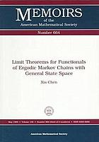 Limit theorems for functionals of ergodic Markov chains with general state space