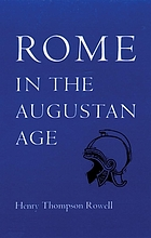 Rome in the Augustan Age
