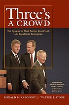 Three's a crowd : the dynamic of third parties, Ross Perot, & Republican resurgence