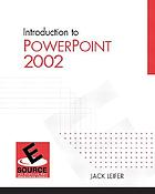 Introduction to PowerPoint 2002