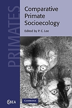 Comparative Primate Socioecology cover image