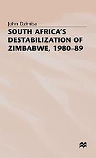 South Africa's destabilization of Zimbabwe, 1980-89