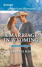 A marriage in Wyoming