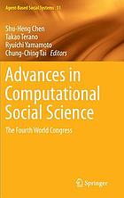 Advances in computational social science : the fourth world congress