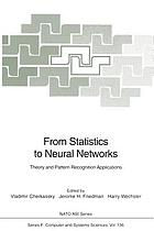 From Statistics to Neural Networks : Theory and Pattern Recognition Applications