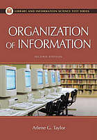 The organization of information