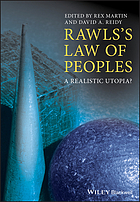 Rawls's law of peoples : a realistic utopia?